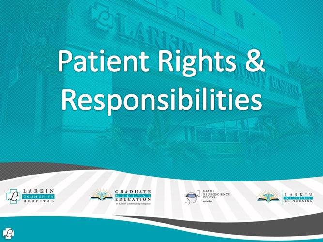 Patient Rights & Responsibilities  Presentation