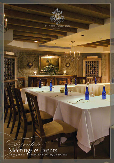 The Bernards Inn Meetings & Events Brochure