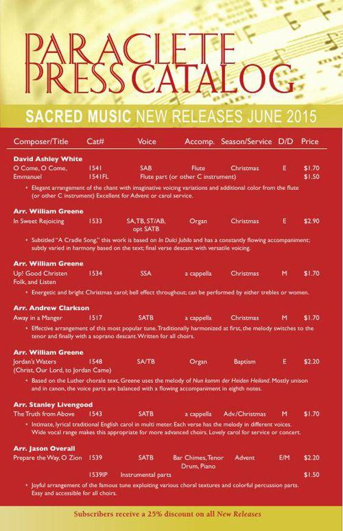June 2015 New Releases