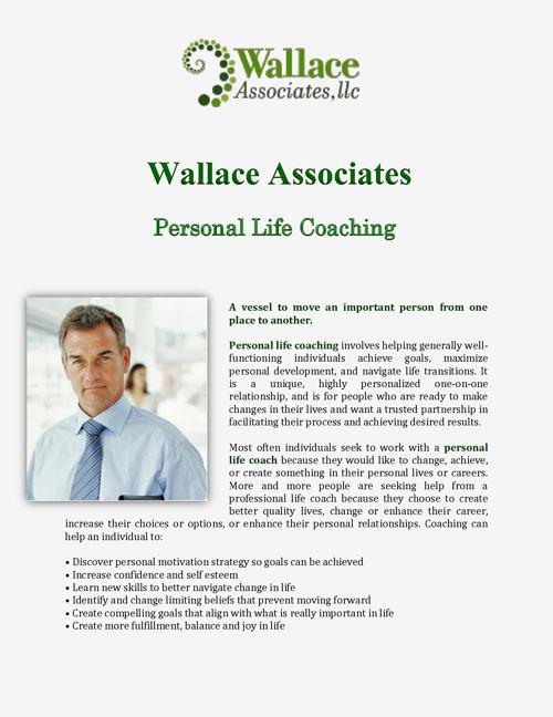 Wallace Associates: Personal Life Coaching