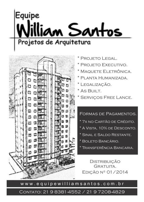Revista - Equipe William Santos - Edição 01 - 2014.