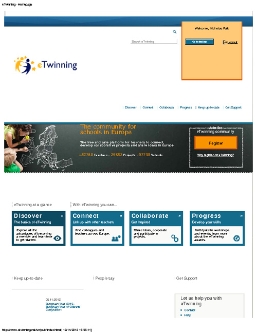 The eTwinning Portal