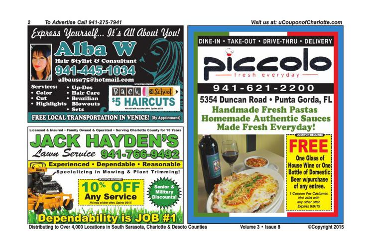 uCoupon Book of Charlotte