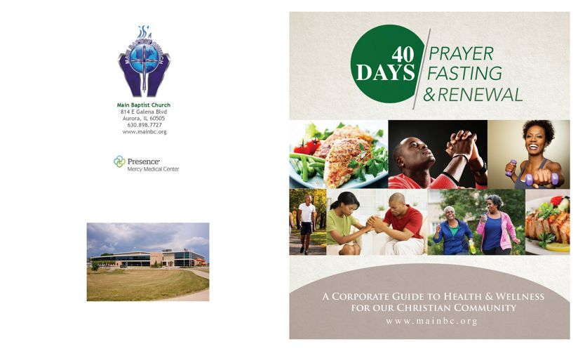 40 Days | Prayer Fasting & Renewal Guide 2018
