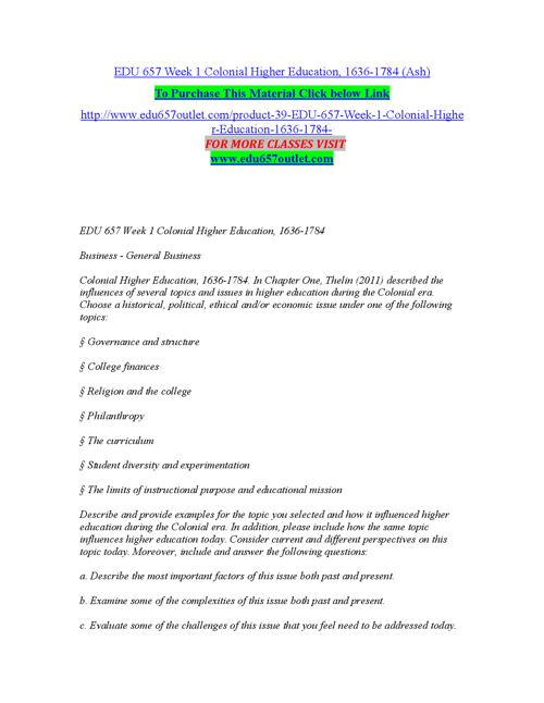 EDU 657 OUTLET Expect Success edu657outletdotcom