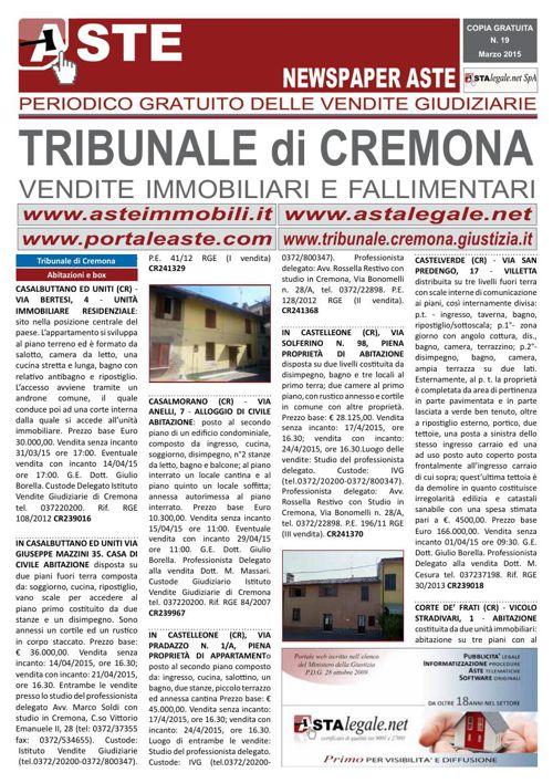 Cremona marzo 2015