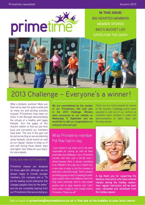 Primetime Newsletter-Autumn