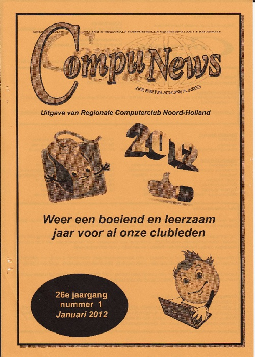 Compu News Nr.1 Januari 2012