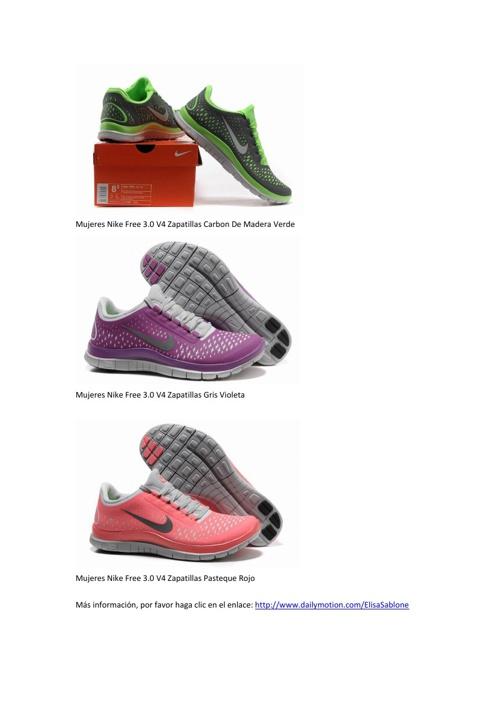 Mujeres Nike Free 3.0 V4 Zapatillas