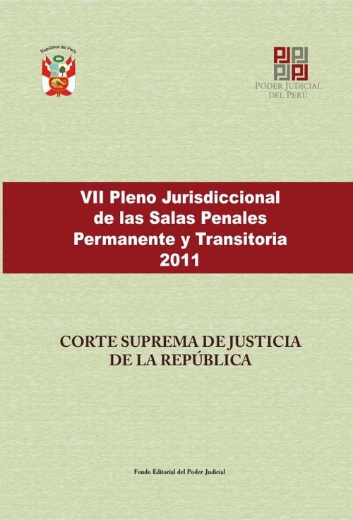 VII Pleno Supremo Penal