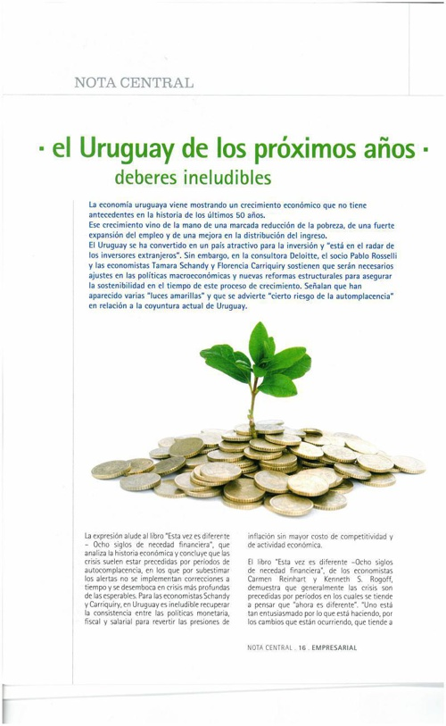 El Uruguay de los próximos años