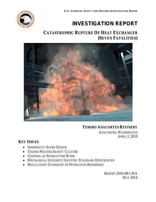 CSB Investigastion Report Sample