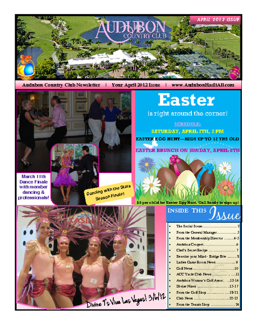 April 2012 ACC Newsletter