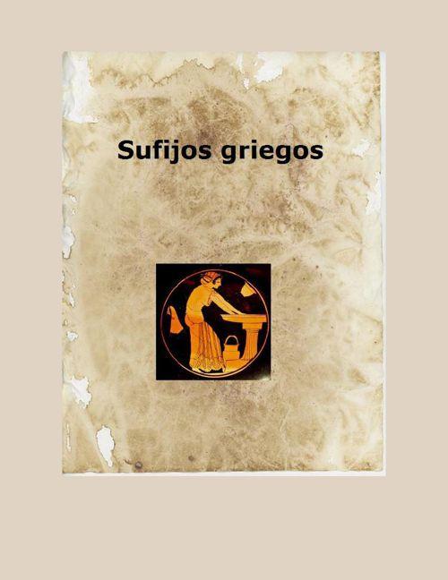 Sufijos griegos