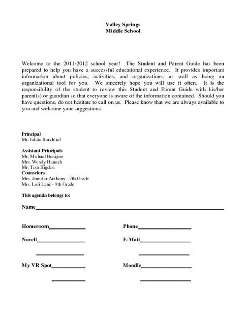 VSMS Student Handbook