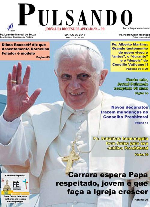 Jornal Pulsando Março 2013