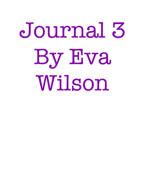 Journal Book 3