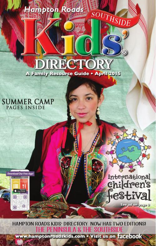 Hampton Roads Kids' Directory: Southside - April 2015