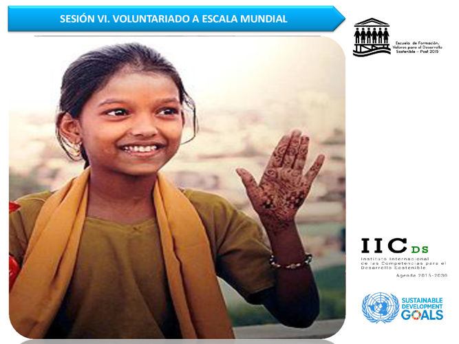 6. Voluntariado a escala mundial.1