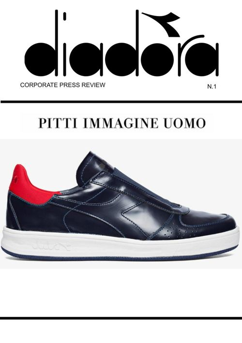 Pitti - Corporate Product Press Review 16.01.2018