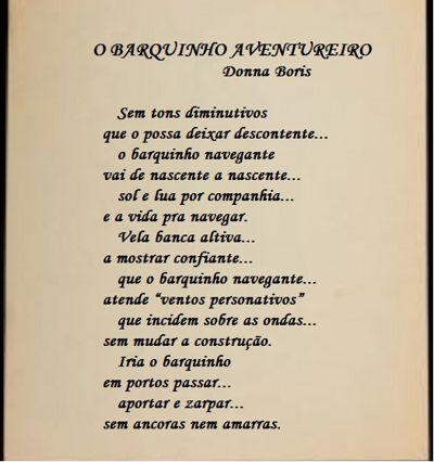 BARQUINHO AVENTUREIRO