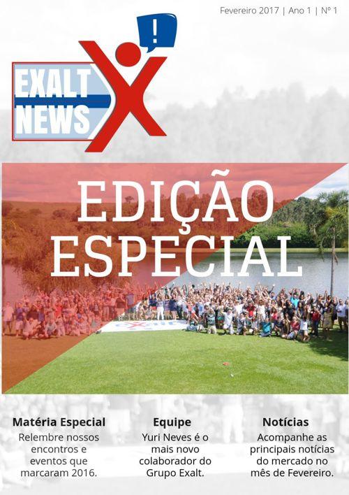 Exalt News | Nº 1
