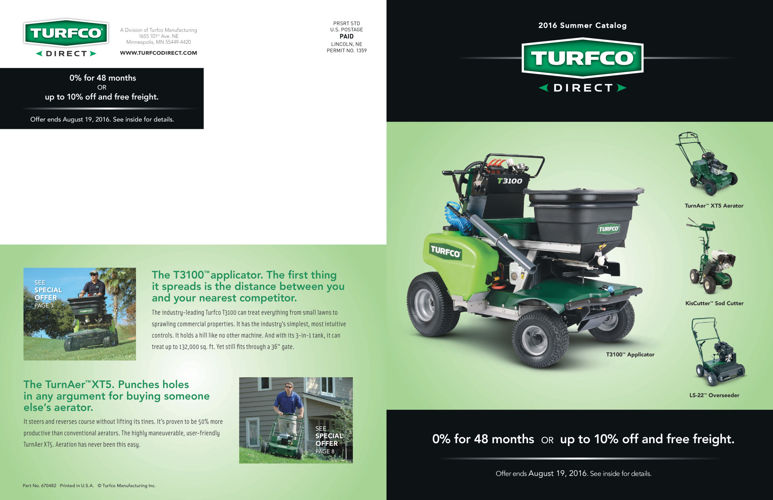 Turfco Direct Summer Sale Catalog