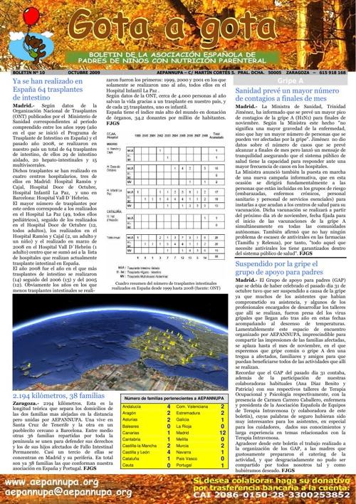 Boletín 10 Octubre 2009