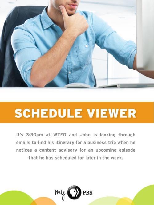 Schedule Viewer Flipbook