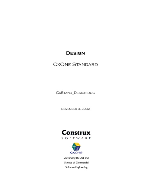 Construx Design