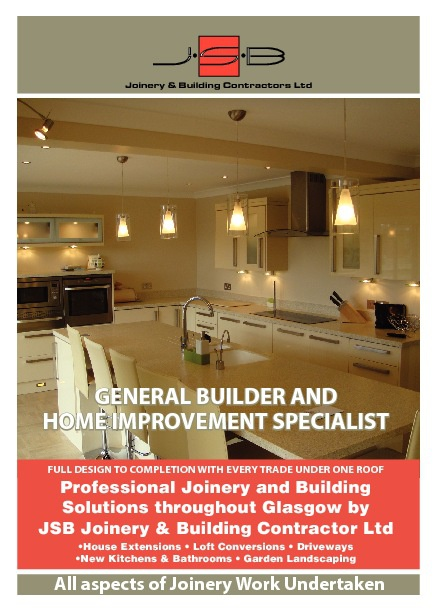 JSB Joinery and Building Contractor Glasgow Booklet