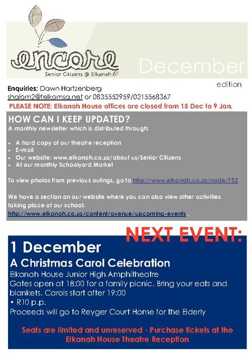 Encore December