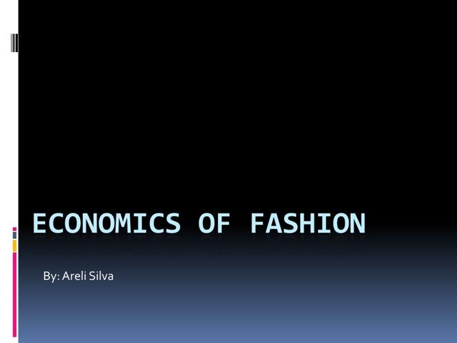 Fashion booklet
