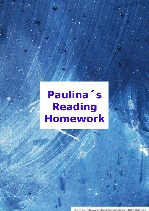 Paulina´s Reading Homework