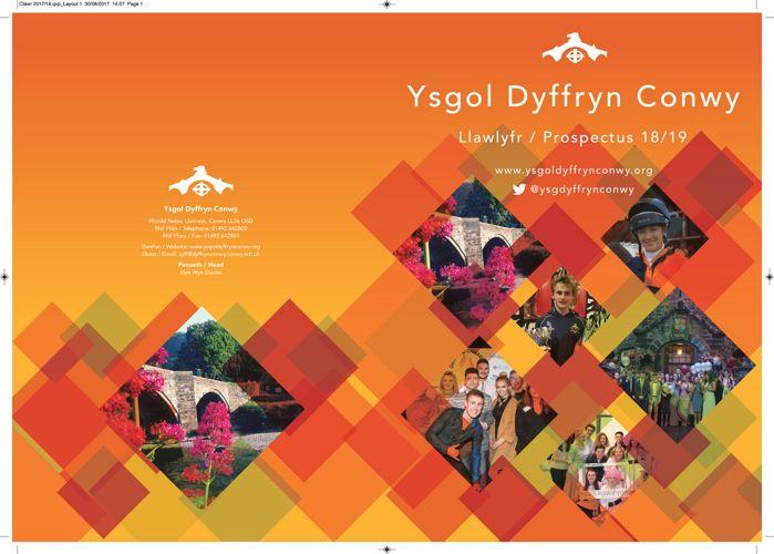 Ysgol Dyffryn Conwy - Llawlyfr / Prospectus 18/19