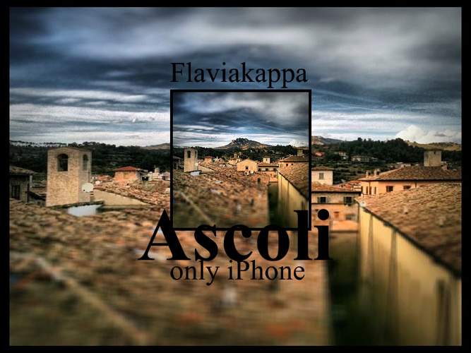 Ascoli only iPhone