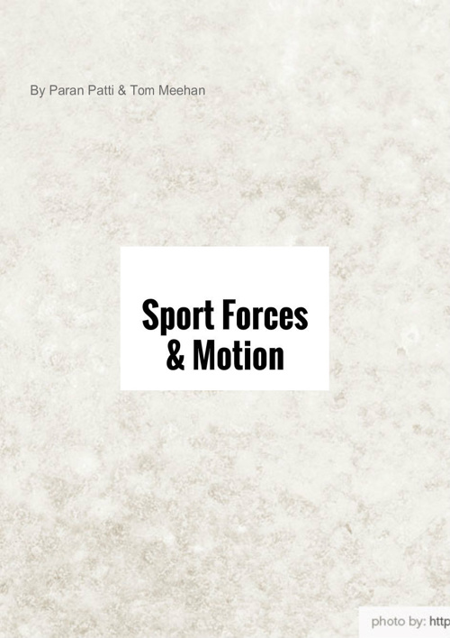 Sport Forces & Motion