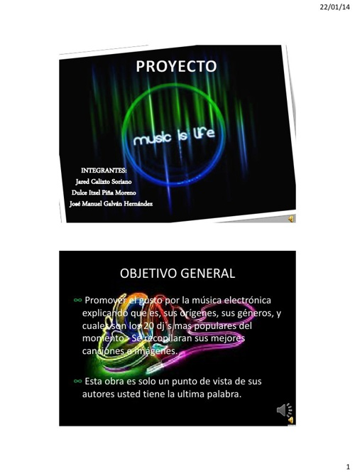 proyecto music is life