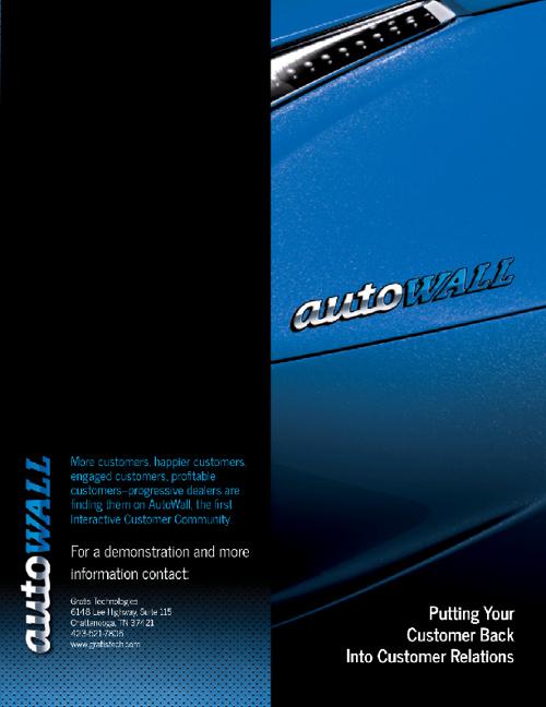 Auto Wall Brochure