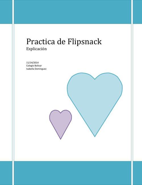 Practica de Flipsnack