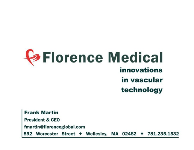 Florence Pitch Deck