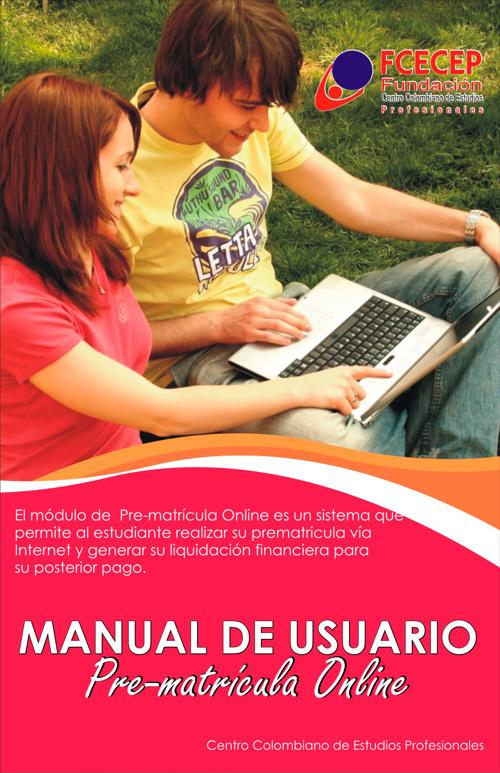Manual de Usuario Pre-matrícula Online y Comprobantes de Pago