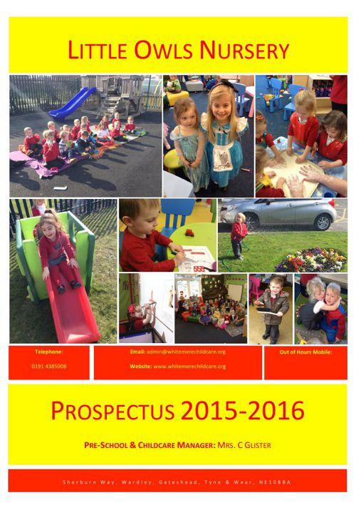 Prospectus 2015 (New) (Little Owls Nursery)
