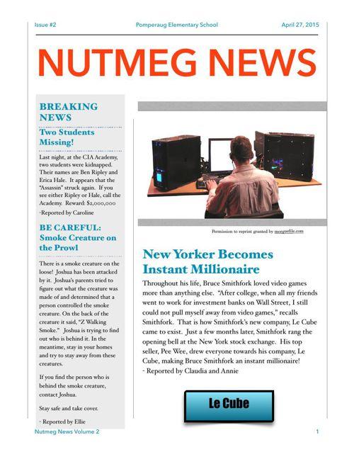 Nutmeg News Second Edition