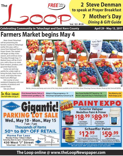 The Loop Newspaper - No 32 Vol 08 - April 29 to May 13, 2017