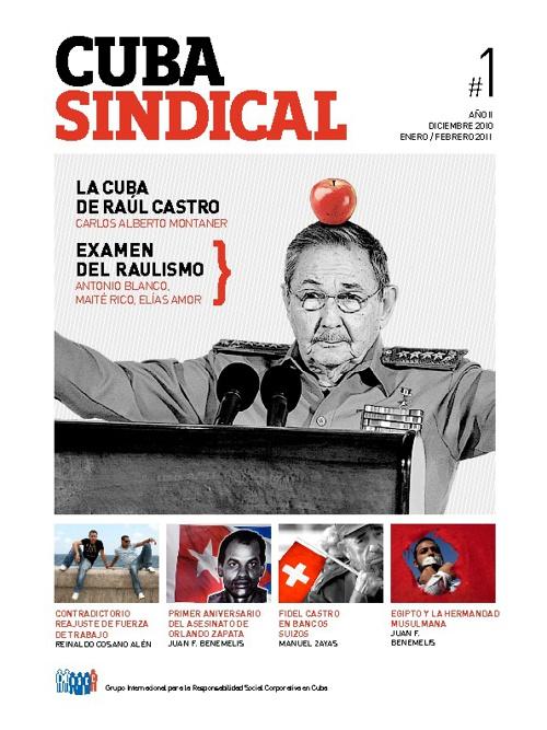 Cuba Sindical #1 Año II / Diciembre 2010 Enero / Febrero 2011