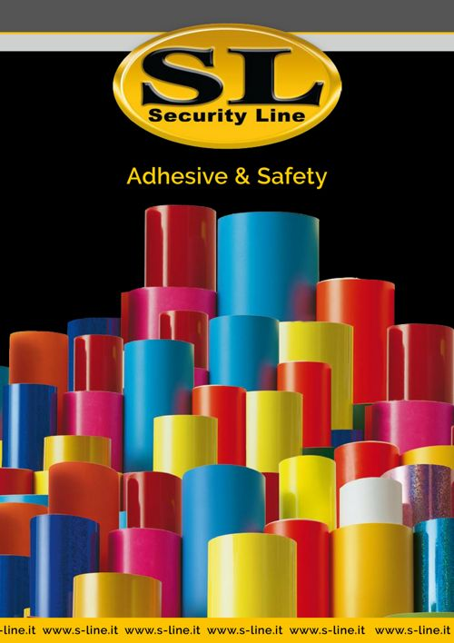 Security Line / Adhesive & safety - Catalogo 2017