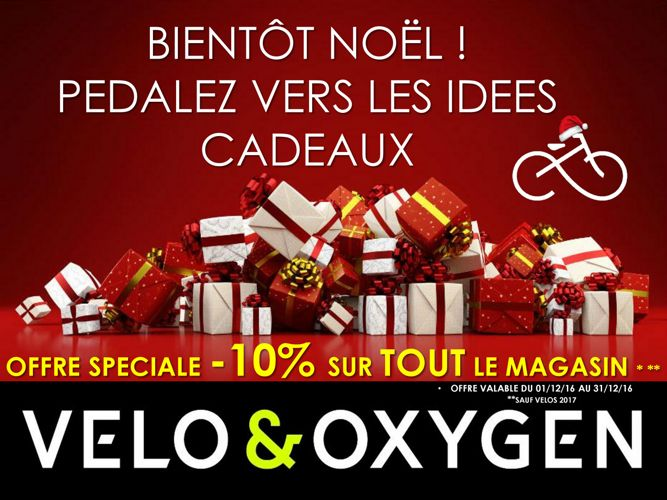 CATALOGUE NOEL 2016 VELO OXYGEN