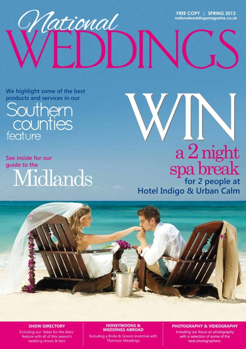 National Weddings Magazine Spring 13