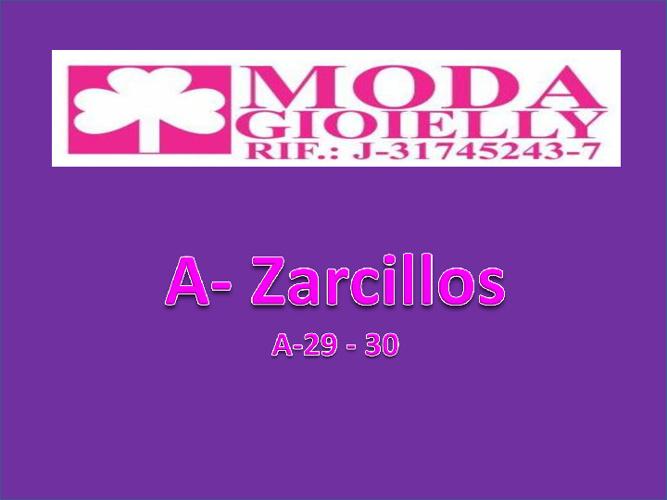 A - Zarcillos 29- 30